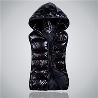 L/3XL Autumn and winter plus size Women vest with a hood vest