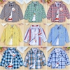 Boys long sleeve cotton shirts