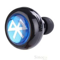 Brand New Minimum Wireless Stereo Bluetooth Earbud Earphone Headphone for Mobile Phone Laptop Tablet