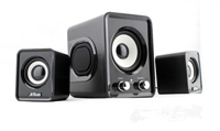 Mini Subwoofer Speaker 2.1 Stereo Multimedia Home Bass Loudspeaker For Dancing Computer, PC laptop