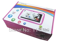 7 inch Dual Core Children Kids Tablet PC RK3026 PAD Android 4.4 MID Dual Cam & Educational Games App Birthday Gift
