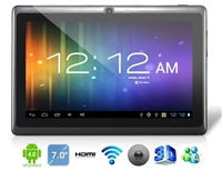 "7"" Android 4.2 A23 1.5GHz Tablet PC with External 3G, 1080P Playback, Capacitive Touch (4G) (Black)"