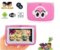 "4.3 inch kids tablet pc rk2926 cpu Android 4.2 512 RAM 4G ROM wifi dual camera cheap 4.3"" tablet pc"