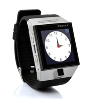 ZGPAX S5 Android 4.0 Smart Phone Watch - 1.54 Inch Capacitive Touch Screen, Camera, Dual Core CPU (Silver)