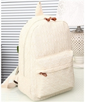 Lace Casual Backpack