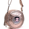 Betty Boop® Rhinestone and Multi-Studded Hobo Bag