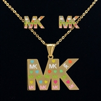 18k Golden Pendant Necklace