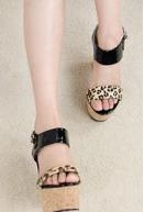 Leopard Print  Women's Pumps