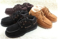 Men with real cowhide boots, fashion warm antiskid quality winter boots
