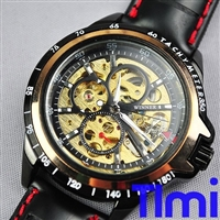 Cool Luxury wristwatch Sport Style Auto Mechanical Mens Watch