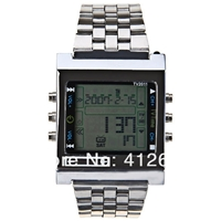 TV-DVD Remote Control LED Watch with Calendar