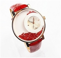 Geneva brand watch rhinestone quartz