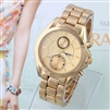 Fashion Casual Wristawtch Stainless Case Hardlex Analog Famous Brand Discount Full Steel Watch KINGSKY