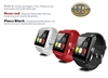 U8 Bluetooth Smart Wrist Watch Phone Mate for IOS Android Samsung IPhone HTC Black