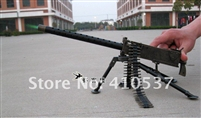 Novelty Metal Heavy Machine Gun Model Cigar Lighter Butance Gas Cigarette Lighter Toy Gun