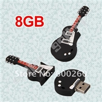 Guitar USB 8GB Flash Memory Stick Pen Drive Disk for Laptop Computer