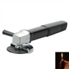 Burnisher Shape Cigarette Lighter Black