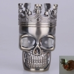 Skull Head Music The Cigarette Lighter Bronze