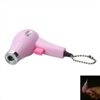 Hair Dryer Design Cigarette Lighter Pink