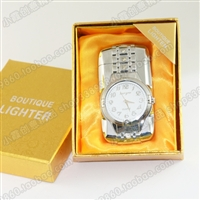 Lighter with flash table windproof lighter personalized watches luminous lighter